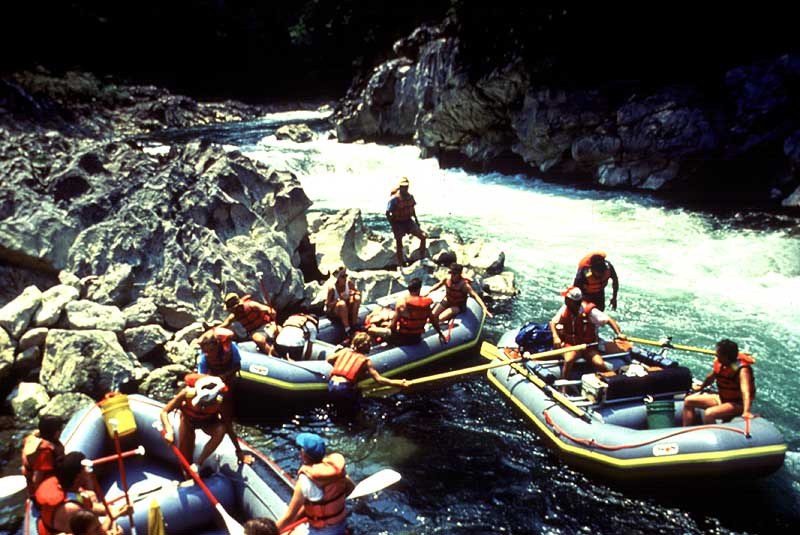 Bottom of Corkscrew Rapid  - Maya Expeditions