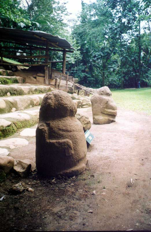 Takalik Abaj Fat Man Statue - Maya Expeditions