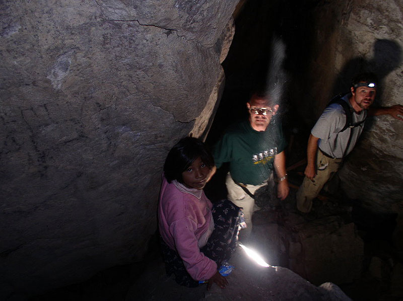 Diablo Cave by balance Rock Ridge - Copper Canyon Adventures - Maya Expeditions