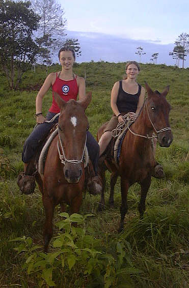 Horseback Riding in Rio Dulce - photo by Hacienda Tijax - Maya Expeditions