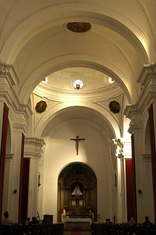 La Merced Church - photo by Gordon Kilgore - Antigua - Maya Expeditions