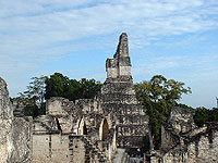 Temple I of Tikal - Maya Archaeological Site - Maya Expeditions