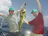 Dophin Fish, Dorado Catch - photo Parlama Team - Maya Expeditions