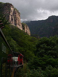 Train through the Copper Canyon - Maya Expeditions