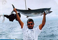 Sailing on Las Sirenas Fishing - Barracuda - photo by Aventuras Vacacionales, S.A.