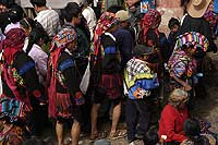 Procession of the Cofradias of Chichicastenango - photo by Gordon Kilgore - Maya Expeditions