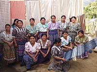San Juan Womens Weavign Cooperative photo by Les Mahoney - Copper Canyon Adventures - Maya Expeditions